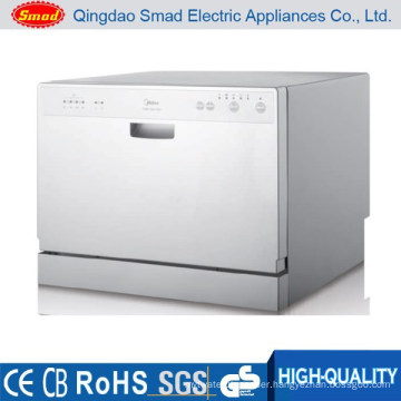 6 set home desktop mini portable dish washer with SAA