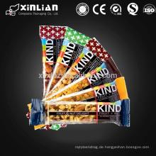 Food Grade laminierte Energie Bar Beutel Verpackung