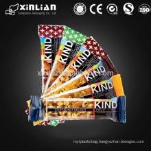 Food Grade laminated energy bar sachet packaging
