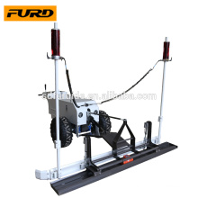 laser screed concrete machine for flooring worksite