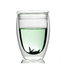 Tasse à thé en verre de 350 ml en forme d'oeuf avec couvercle (XLSC-001G 350 ml)