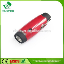 Multi-función de la herramienta de alta potencia 5 LED BLANCO + 6 LED ROJO multicolor llevado linterna