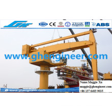 700tph Coal Slag Plant Jetty Handling Machine Hydraulic E Crane