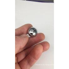 Interruptor de botón de cabeza redonda de 12 mm de cromo metálico CMP