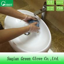Limpiar la limpieza del hogar guante suave
