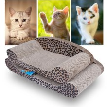 OEM/ODM for Chaise Longue Cat Scratching Board cardboard cat scratchers furniture export to Cook Islands Manufacturers