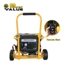 3kw Astra Korea Gasoline Generator With Remote Start