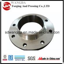 Bride en acier au carbone de tuyau de pièce forgéee de soudure de cou d'ANSI