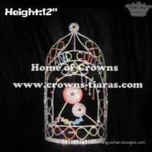Wholesale Custom Candy Land Cuties Lollipops Queen Crowns