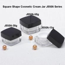 Forma cuadrada tarro de crema J050A