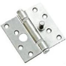 "3.5"" ×3.5\"" ×2.5 Chrome Finish Steel Door Hinges"