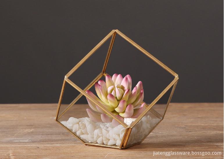 Vases Glass Flower12