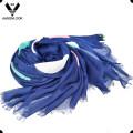 Леди мода Оптовая многоцветный большой DOT отпечатано с длинным модальные шарф