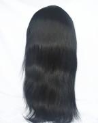 14 inch cơ thể sóng lụa ren hàng đầu toàn bộ tóc giả