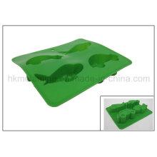 Moldes en forma de coche de la torta del silicón (RS16)