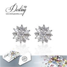 Destin bijoux cristaux de Swarovski boucles d'oreilles cristal boucles d'oreilles