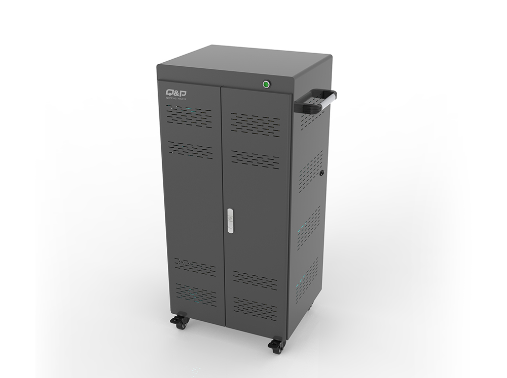 Smart usb port charging carts