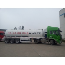 3Axle 5500US Gallon Vacuum Suction Sewage Tank Semi Trailer
