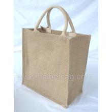 Jute Sac à main en jute sac à dos en jute sac de jute (HBJU-043)
