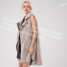 Gilet in pelliccia di agnello islandese Lady Winter