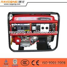 Conjunto de generador diesel 5kw Marco abierto refrigerado por aire