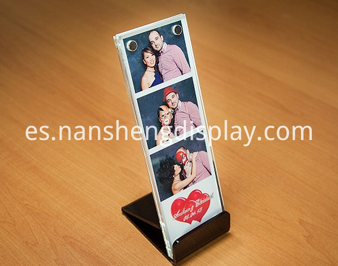 Vertical Acrylic Picture Frame