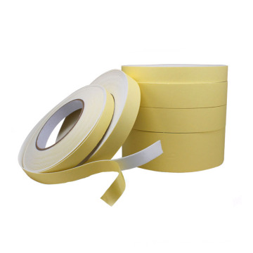 30mm Width Hotmelt Solvent Adhesive EVA Foam Tape For Mounting Nameplates And Mirror