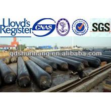Airbags en caoutchouc marins certifiés par ISO9001 / BV pour le levage lourd