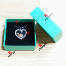 Customized Logo Printing Package Box for Charms Lockets Necklace (LPB50807)