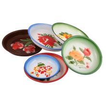 Эмаль плита / рисовая тарелка 14-26см