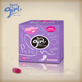 Quality chemical free sanitary napkins period pads for women and girls