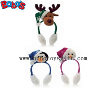 Fashion Design Peluche Animal Xmas Ear Muff Be Christmas Decorate