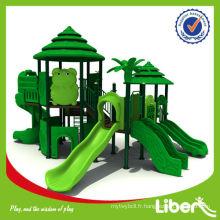 China Golden Fabricant Équipement de jeu en plein air pour les enfants d'âge préscolaire avec plusieurs diapositives