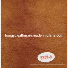 Imitation Buffalo Sipi Leather for Sofa and Furniture