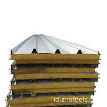 Panel Glass Wool Sandwich