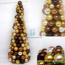 "16"" Decorative Christmas ball tree"