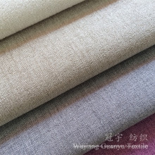 Linen Look and Touch 100% Polyester Fabric for Sofa