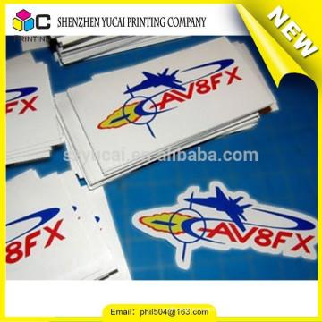 China eva etiqueta de la impresión de la etiqueta engomada y de la impresión de la etiqueta del vinilo para la venta