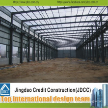 Prefab Structural Steel Warehouse Manufacturing and Assembing Jdcc1035