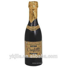 Confeti de champaña, confeti de papel popper