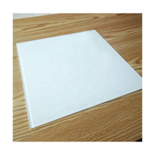 Good quality 5mm 6mm back painted white color tempered glass