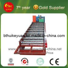 Matériau de construction Feuille de toit métallique Machine de formage de rouleaux froids