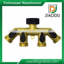 Alta qualidade 1/8 '' 1/2 '' ou 3/4 '' ou 1 '' ou 2 '' ou 3 '' cromado banhado ou cor original cobre válvula de segurança para água ou óleo