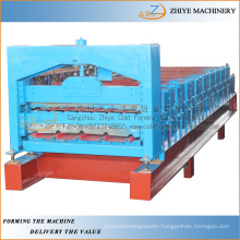 double layer steel roofing sheets cold forming machine/Double Decker Making Equipments Process Line