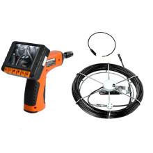 Endoscope d'inspection de canalisation de tuyau de fibre optique imperméable de 20 M