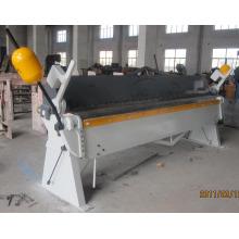 Dobrador manual da placa de aço de Wh06, máquina de dobramento manual, máquina do dobrador da mão