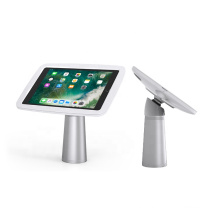 Anti Theft aluminum stand custom desktop security swivel tablet POS stand for iPad