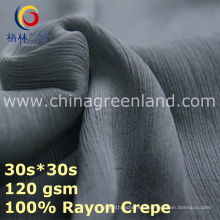 Factory Rayon Crepe Fabric for Garment Blouse Clothes (GLLML436)