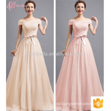 Colorful Cheap Long Plain Dyed OEM Service Plus Size Bridesmaid Dress