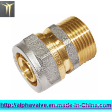 Brass Press Fitting (a. 0436)